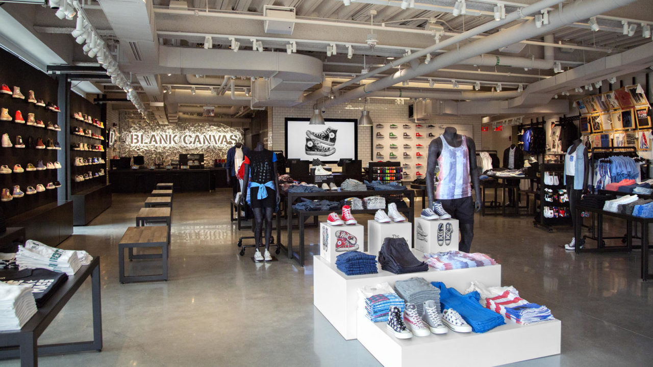 Converse retail Store - Foko Retail Case Study