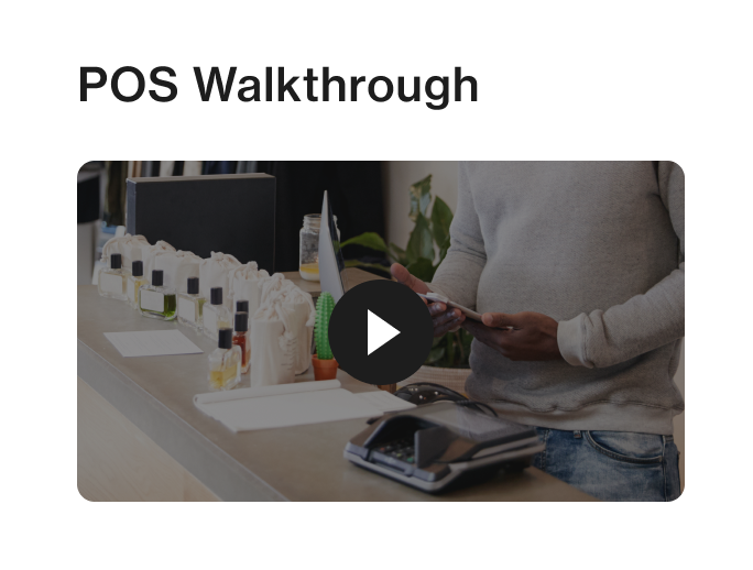 In-store communication app Foko Retail channel video post