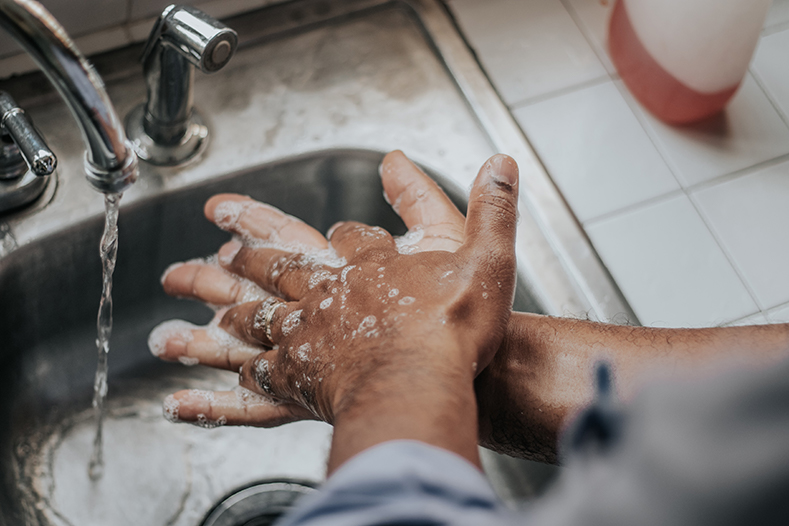 Washing Hands during Covid-19