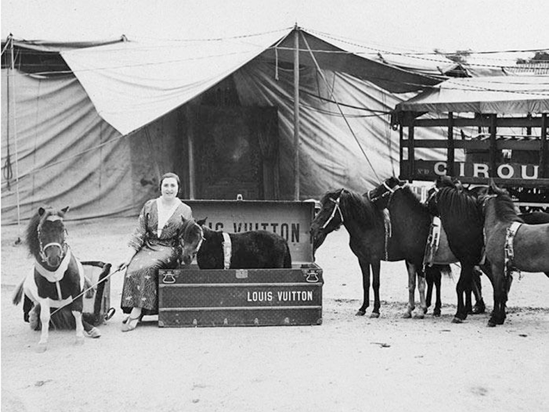 Louis Vuitton Archives,Rancy family circus