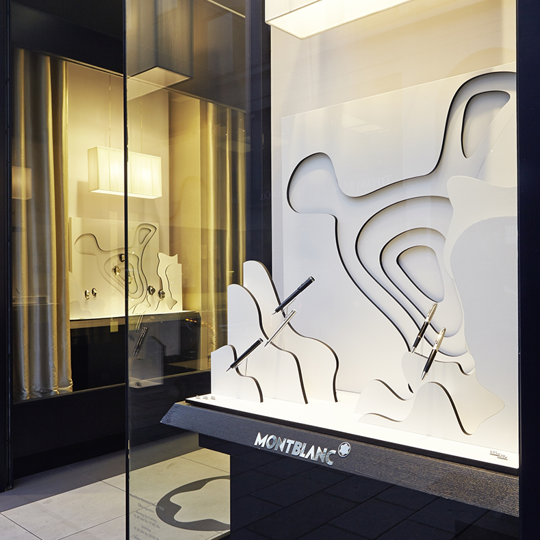 Mont Blanc Window Display, 2015